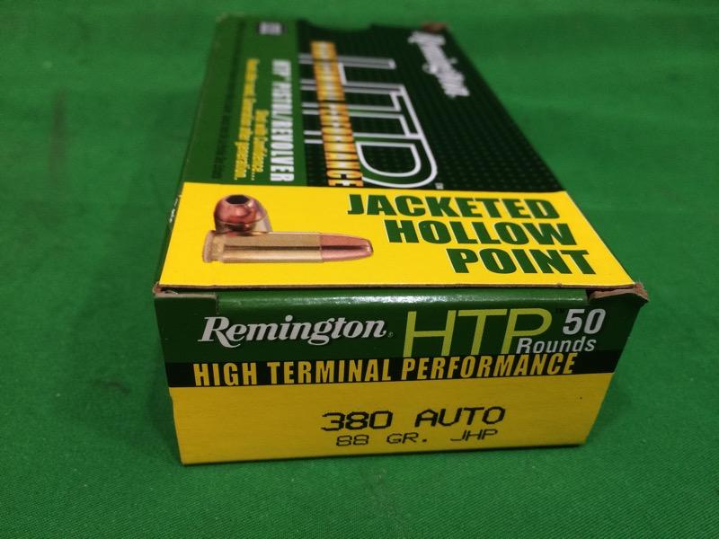 REMINGTON FIREARMS & AMMUNITION Ammunition HTP .380 AUTO