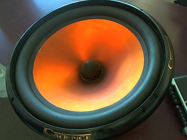 CADENCE AUDIO Car Speakers/Speaker System UD-152H