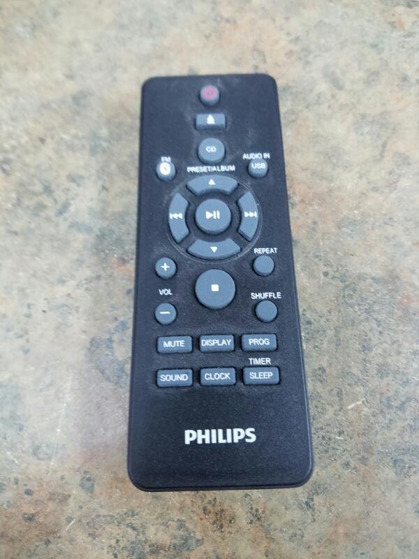 PHILIPS CD Player & Recorder BTM2180