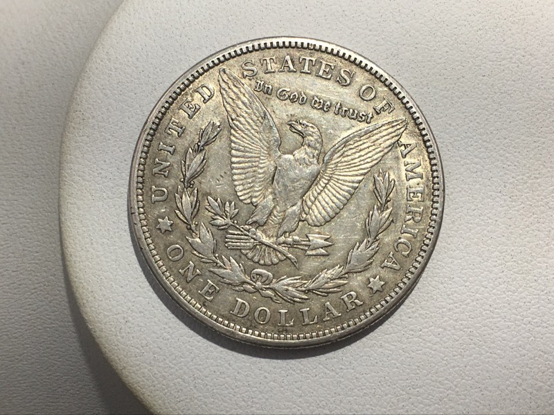 1921 S United States Morgan Silver Dollar $1 Coin