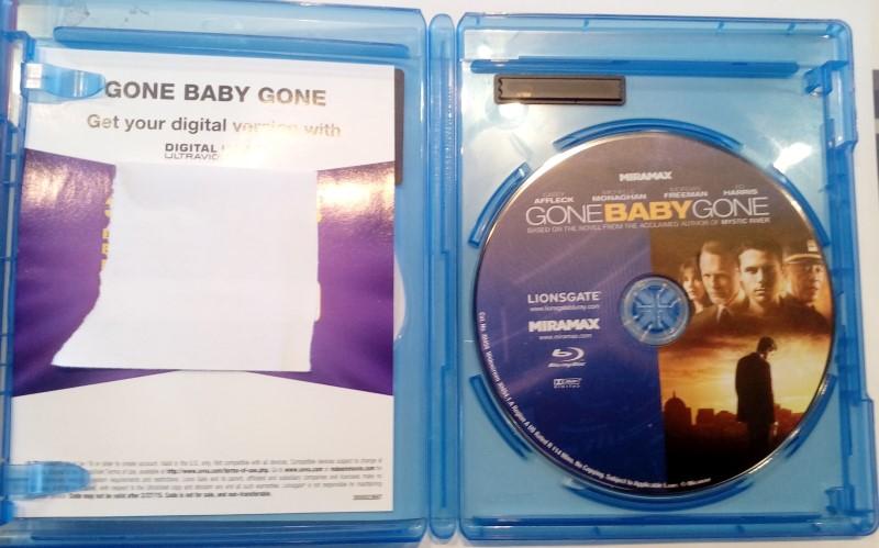 BLU-RAY MOVIE GONE BABY GONE