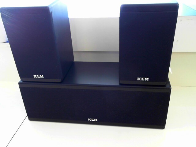 KLH Speakers/Subwoofer 9930