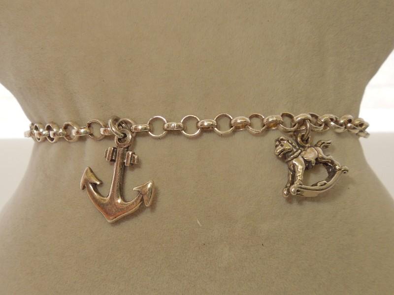 Silver Fashion Bracelet 925 Silver 7.6g