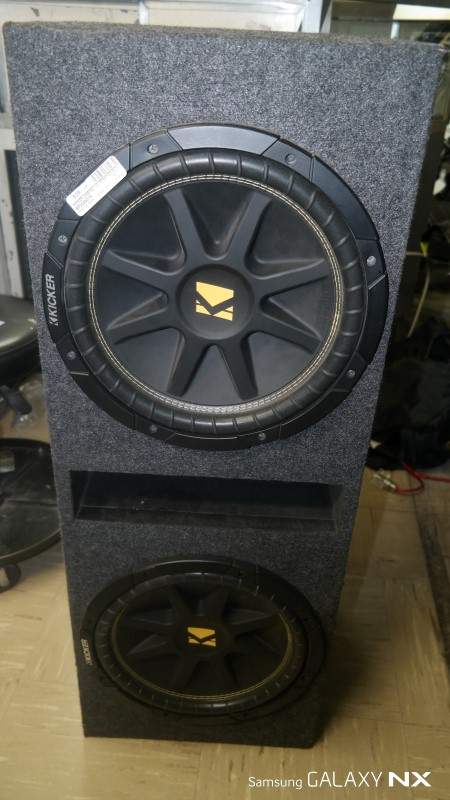 "KICKER Car Speaker Cabinet 12"" SPEAKER BOX"