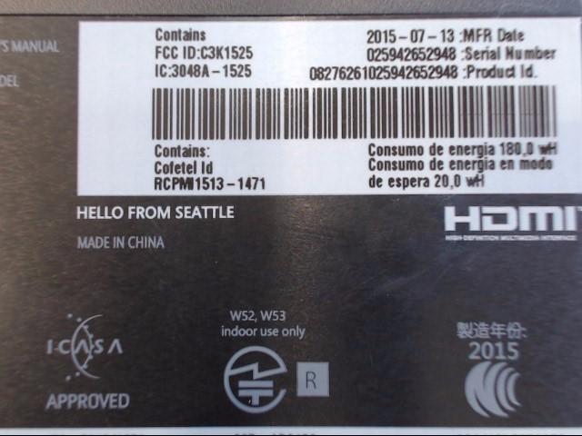 XBOX ONE 1TB BLK (M#1540)