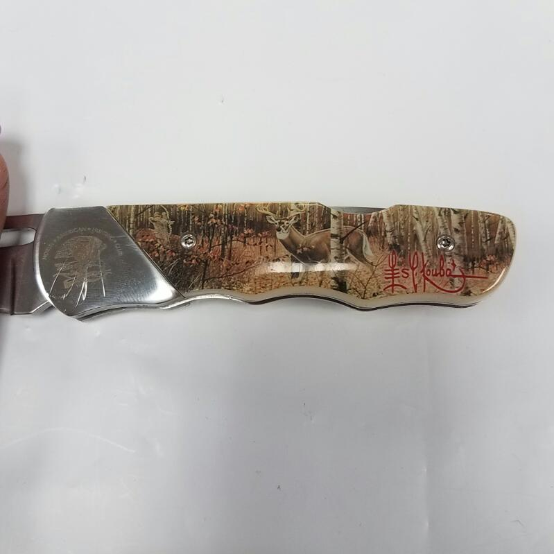 """North American Hunting Club """"Bowhunter's Dream"""" Collectible Pocket Knife"""