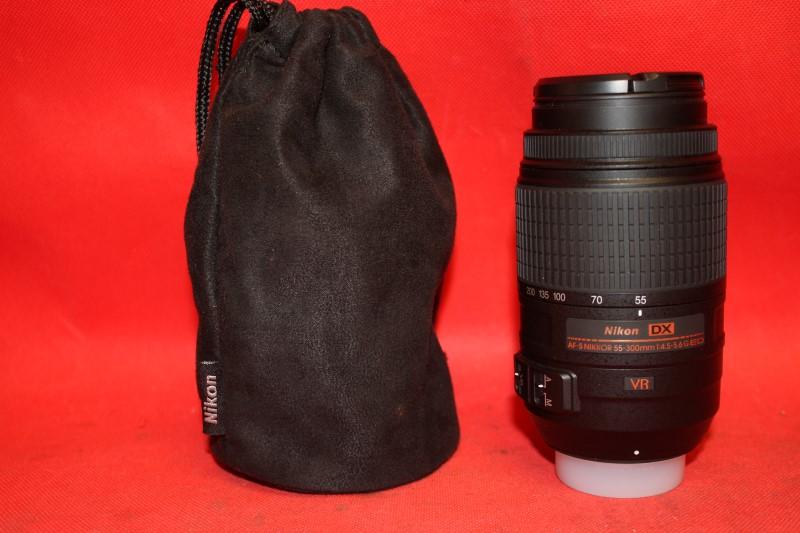 Nikon AF-S DX NIKKOR 55-300mm f/4.5-5.6G ED VR Zoom Lens FREE SHIPPING