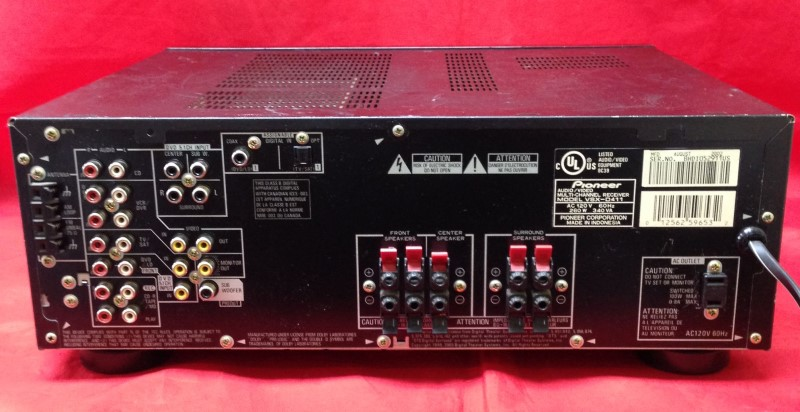 PIONEER ELECTRONICS Receiver VSX-D411