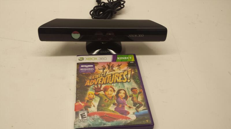 Microsoft Model: 1414 XBOX 360 Kinect With Kinect Adventures Game