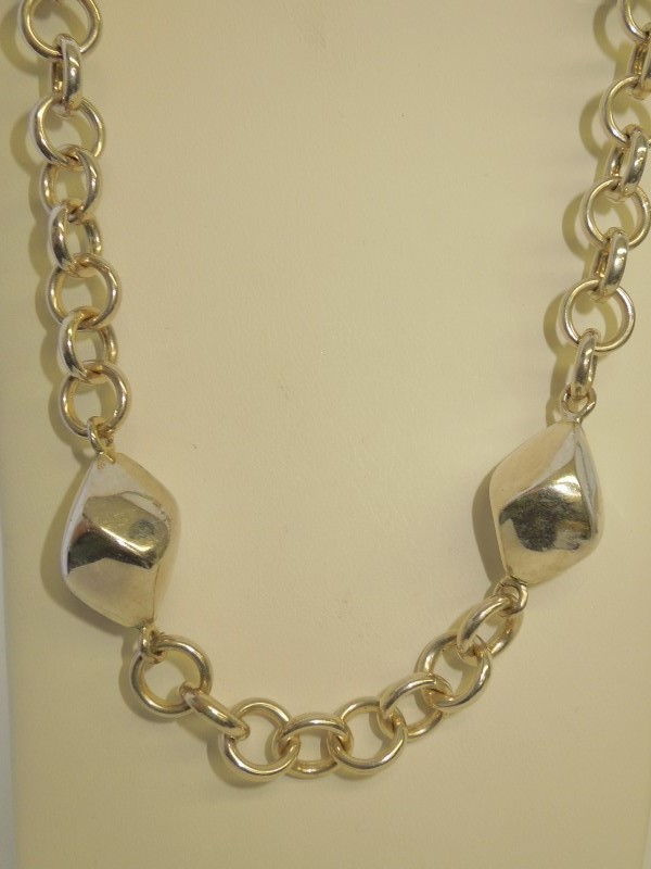 "33"" Silver Fashion Chain 925 Silver 61.4g"