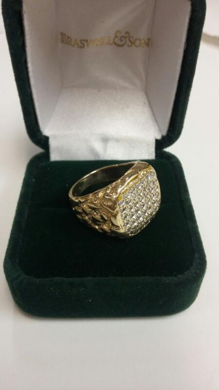 Gent's Gold Ring 10K Yellow Gold 4.4dwt