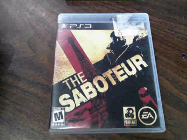 SONY PS3 THE SABOTEUR