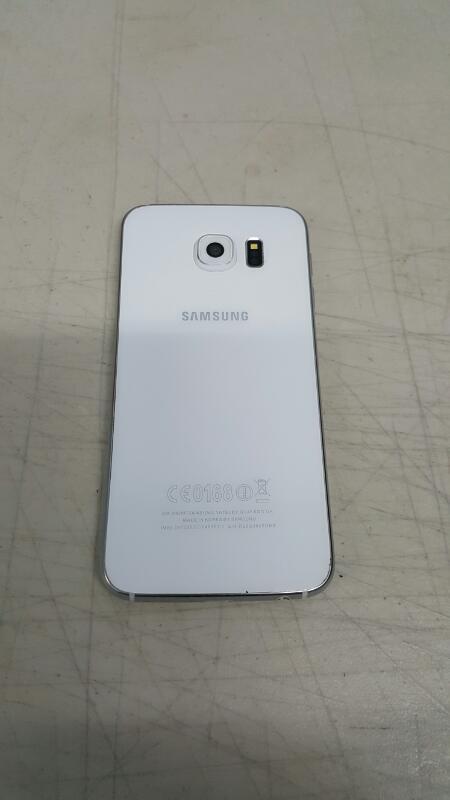 Samsung Galaxy S6, 32gb (SM-G920F, White Pearl, Unlocked)