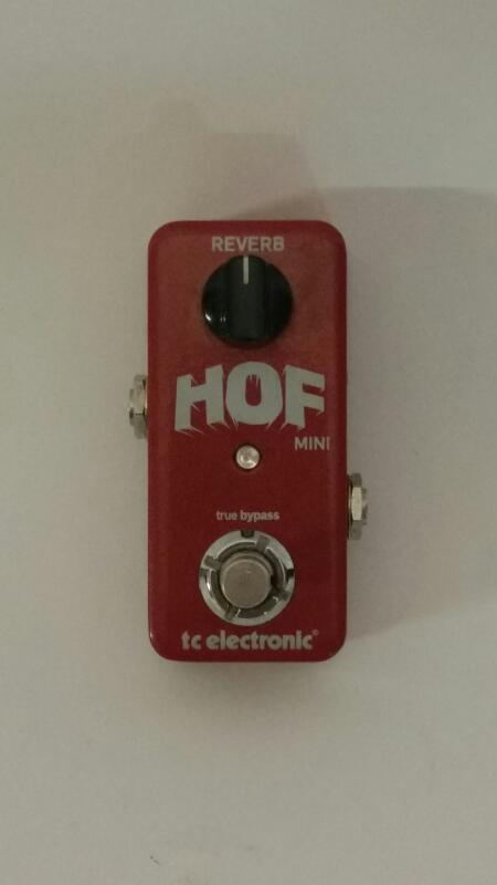 TC ELECTRONIC Effect Equipment HALL OF FAME MINI