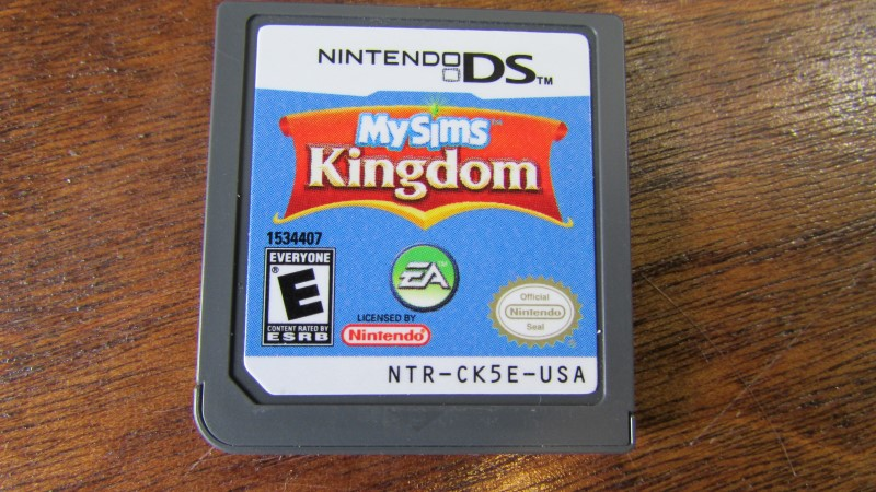 NINTENDO Nintendo DS Game MY SIMS KINGDOM