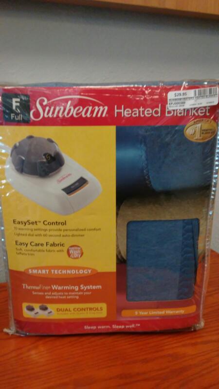 SUNBEAM Heater HEATED BLANKET