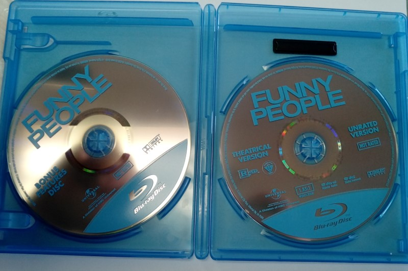 FUNNY PEOPLE, COMEDY BLU-RAY MOVIE, STARRING ADAM SANDLER