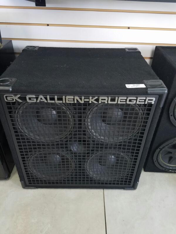 GALLIEN_KRUGER 410SBX     BLK