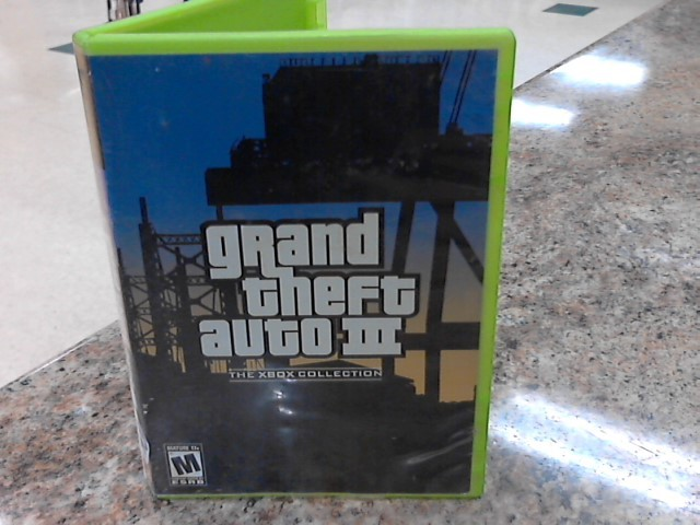 MICROSOFT Microsoft XBOX Game GRAND THEFT AUTO III THE XBOX COLLECTION