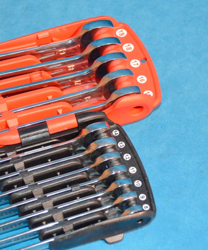 MAC TOOLS SRWMO212PTA 12PC RATCHETING WRENCH SET METRIC 8-19MM 12PT