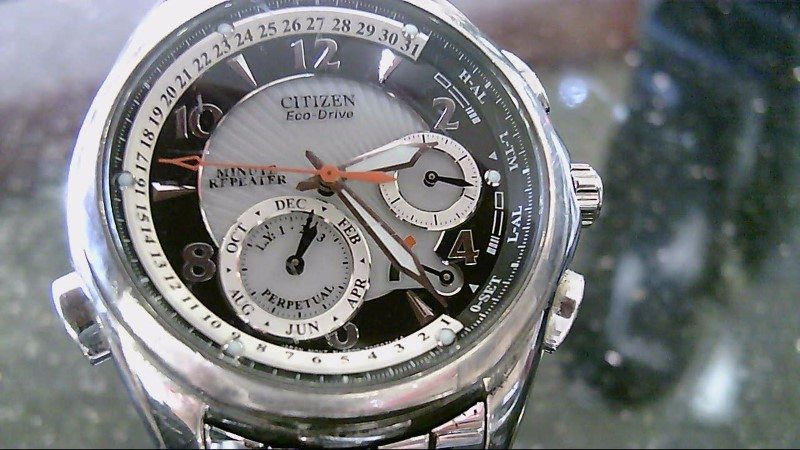 Citizen Stainless Steel Wristwatch GN-4W-S-9