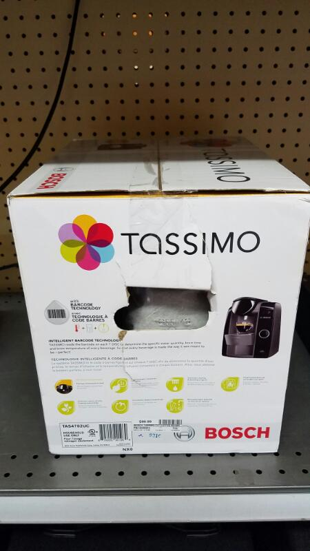 BOSCH TASSIMO T47 SINGLE CUP HOME BREWING SYSTEM
