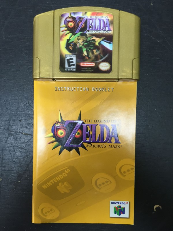The Legend Of Zelda: Majora's Mask - Nintendo 64 N64 Holographic Label