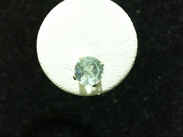Blue Topaz Silver-Stone Earrings 925 Silver 2.5g