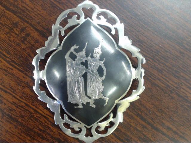 Silver Brooch 925 Silver 10.1g