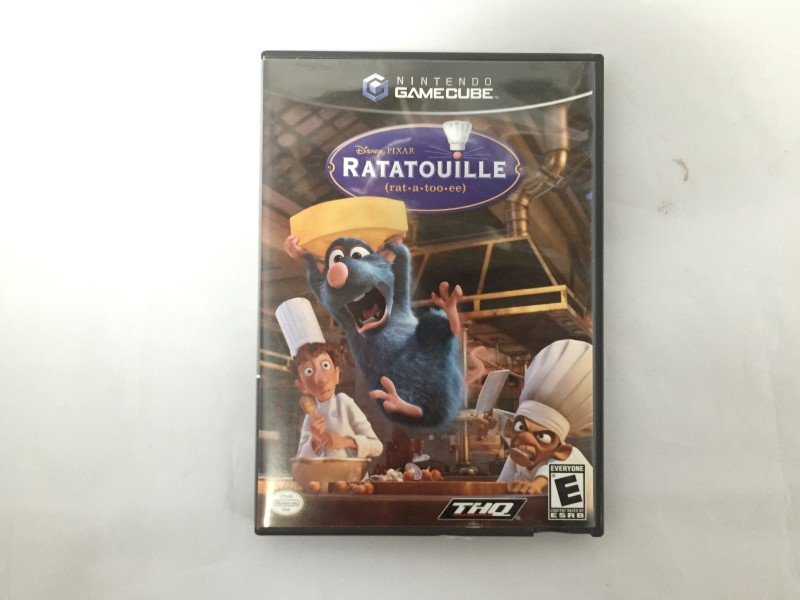 NINTENDO GAME CUBE RATATOUILLE
