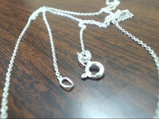 "24"" Silver Chain 925 Silver 1.6g"