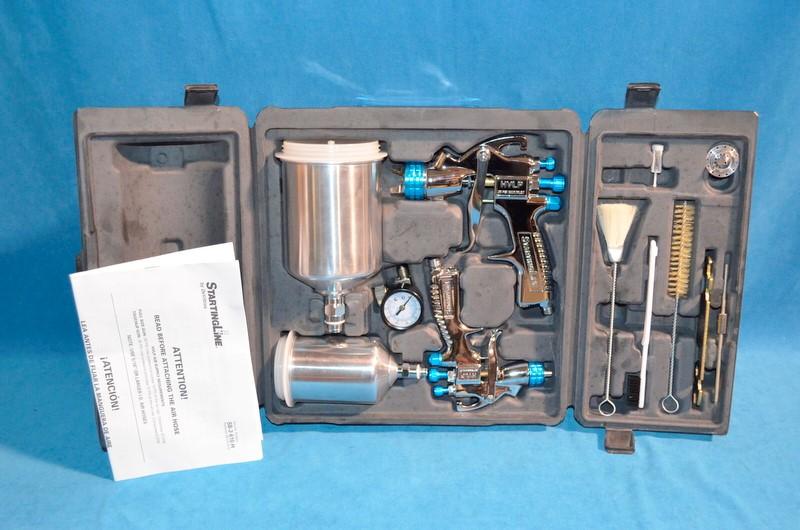 DEVILBISS STARTING LINE Spray Equipment KIT HVLP