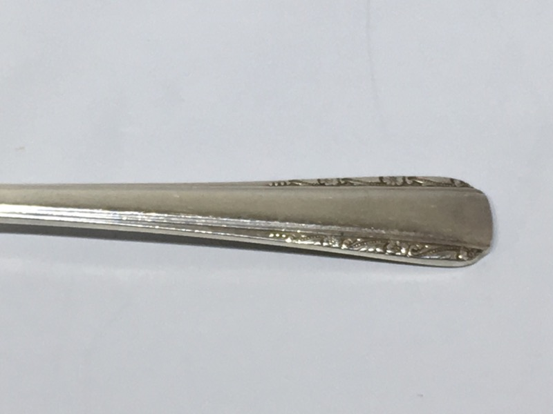 "Courtship by International Silver 5-3/4"" Sterling Silver Sugar Spoon"
