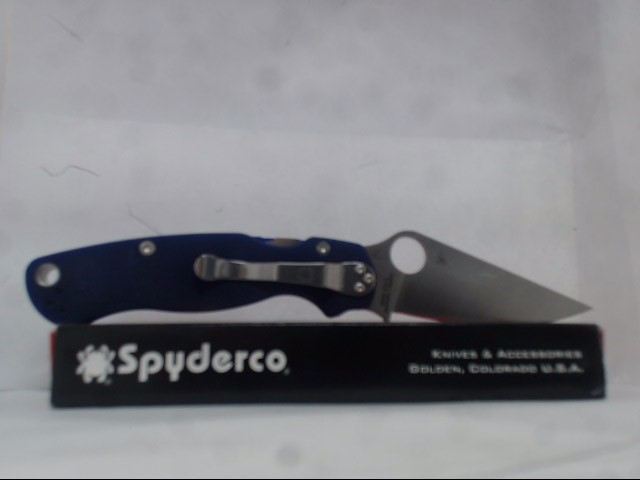 SPYDERCO Pocket Knife POCKET KNIFE