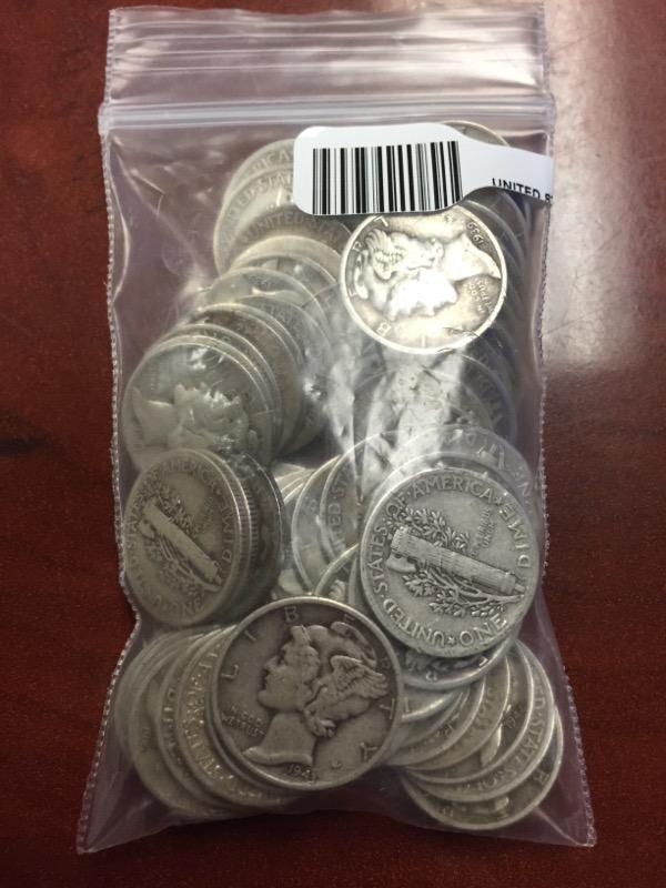 UNITED STATES Silver Coin MERCURY DIMES