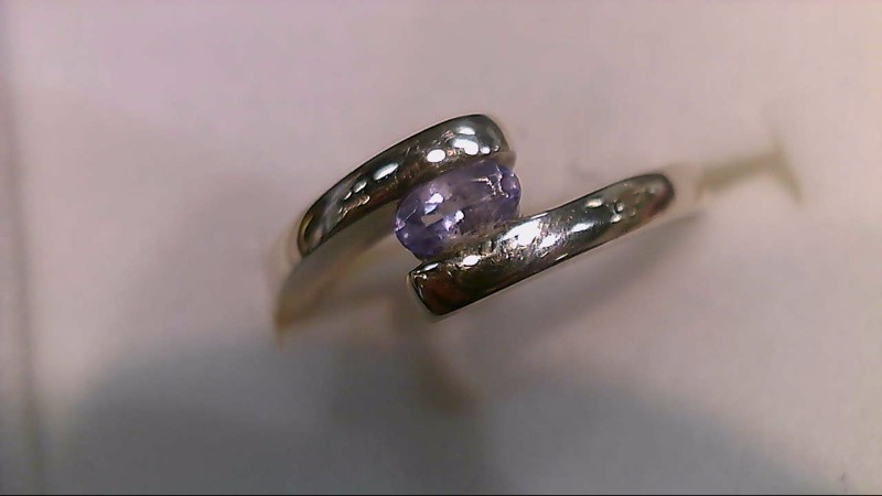 Lady's Silver Ring 925 Silver 2g Size:8