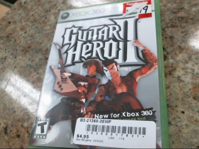 MICROSOFT Microsoft XBOX 360 Game GUITAR HERO