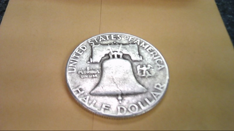 UNITED STATES Silver Coin 1952 FRANKLIN