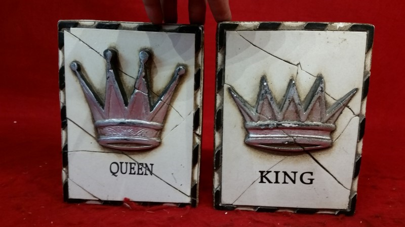 Sid Dickens • King & Queen • Memory Blocks T22 T25