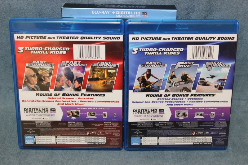Fast & Furious 6-Movie Collection Blu-ray