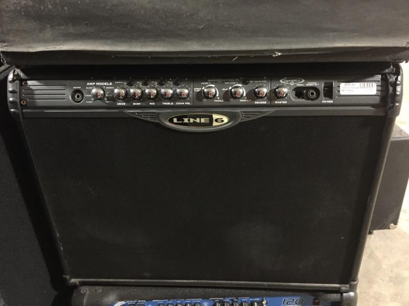 "LINE 6 GUITAR AMP SPIDER 2 2X12"""