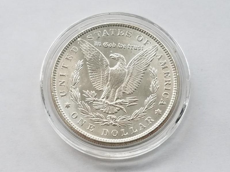 1886 MORGAN SILVER $1 (UNC)