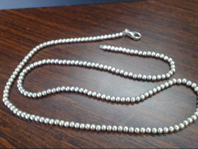 "20"" Silver Chain 925 Silver 13.9g"
