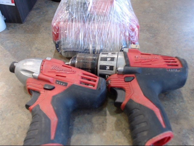 MILWAUKEE TOOL Cordless Drill 2410-22 CORDLESS DRILL/DRIVER KIT