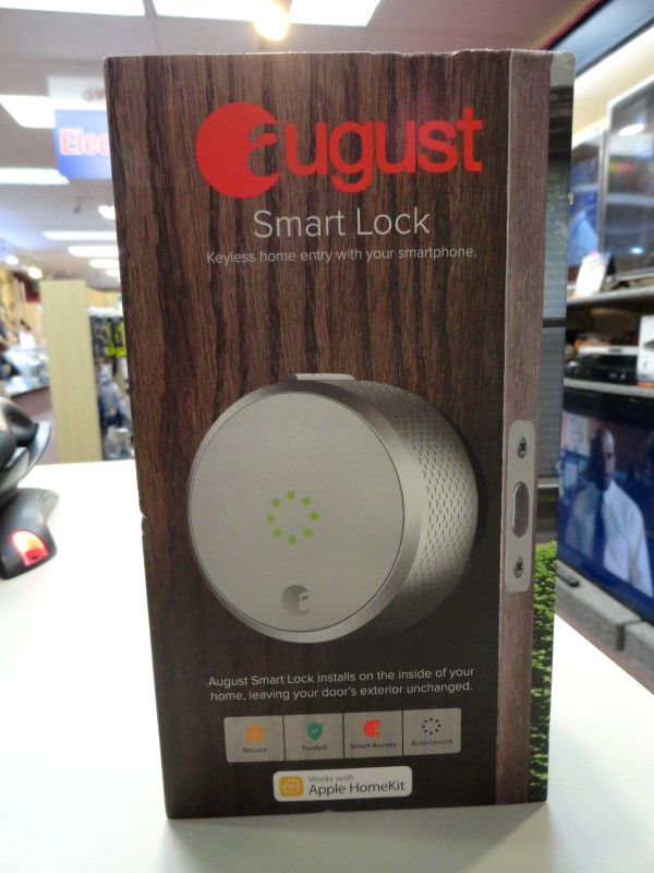 August Smart Lock *AUG-SLO2-MO2-SO2 (SILVER)