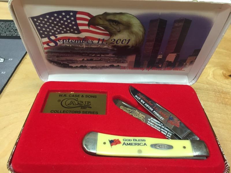 CASE KNIFE Pocket Knife SEPT 11 KNIFE