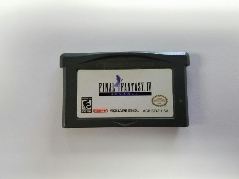 NINTENDO GBA Gameboy Advance FINAL FANTASY IV 4 ADVANCE Cart Only