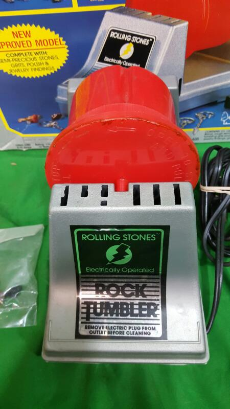 ROLLING STONES ROCK TUMBLER