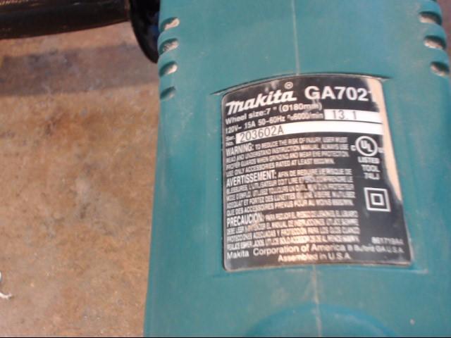 MAKITA Disc Grinder GA7021