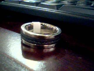 Gent's Ring Silver Titanium 7.6g
